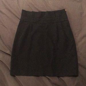 Kate Spade navy pleated mini skirt